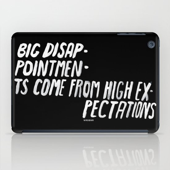 Disappointments iPad Case