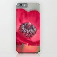 Red Poppy iPhone 6 Slim Case