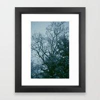 That Cold Feeling Framed Art Print