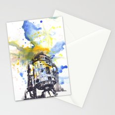 R2D2 from Star Wars Stationery Cards