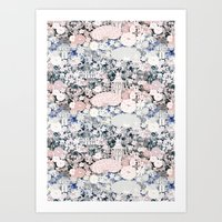 Japanese teahouse Art Print