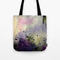 Abstract Mixed Media Design Tote Bag
