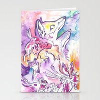 Fox Nebula Stationery Cards