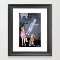 Insomniacs - Once Upon A… Framed Art Print