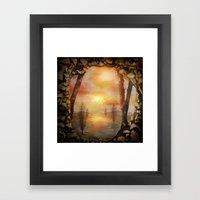 Calling The Sun XX Framed Art Print