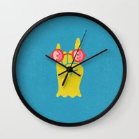 Soft Metal Wall Clock