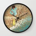 OCD Lady Wall Clock