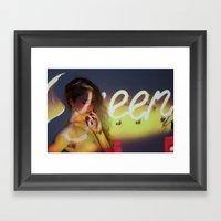 Nicole Hershdog No. 2 Framed Art Print