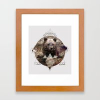 ANIMAL ECHOES Framed Art Print