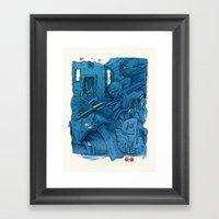Second Level Framed Art Print