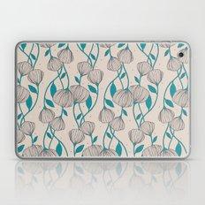 Blue Stem Flowers Laptop & iPad Skin