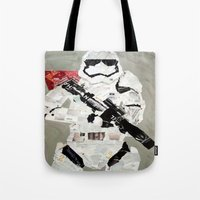 FIRST ORDER STORM TROOPER Tote Bag