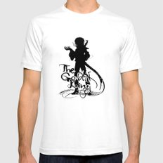 The Goblin King Mens Fitted Tee White SMALL