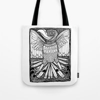Happy Bird Tote Bag