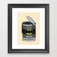 Batsoup Framed Art Print