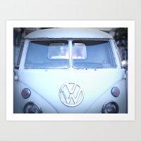 VW love Art Print