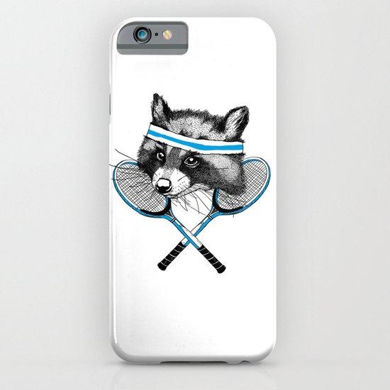 Little Raccoons Tennis Club iPhone & iPod Case