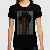 The IT Crowd Womens Fitted Tee Black MEDIUM