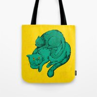 Cat Friends Tote Bag