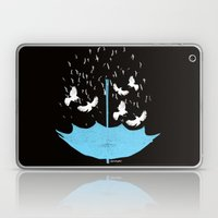 Umbrella Birds Laptop & iPad Skin