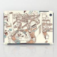 Secret Lives Of Luggage iPad Case