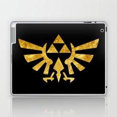 Zelda Golden Hylian Crest Laptop & iPad Skin