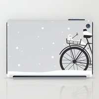 Bicycle & Snow iPad Case