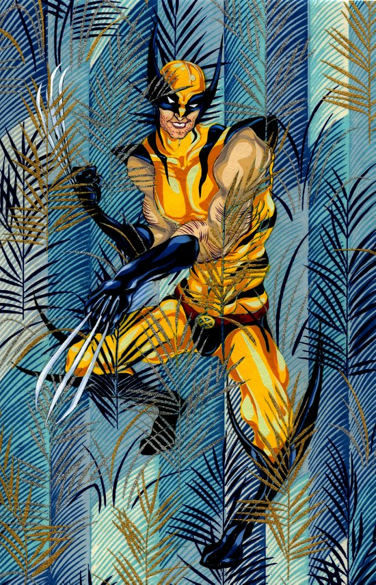 Wolverine Japan Forest Art Print