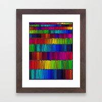 Prismatic Rainbow (Rever… Framed Art Print