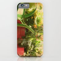 iPhone & iPod Case featuring Flower Pots by Duru Eksioglu