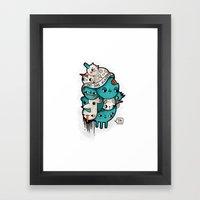 Ist Das Kunst? Framed Art Print