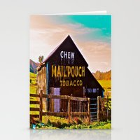 Chew Mail Pouch Stationery Cards
