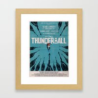 Thunderball Framed Art Print