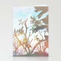 Living In The Sun Stationery Cards
