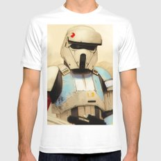 Shoretrooper SMALL Mens Fitted Tee White