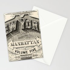Typography Stationery Cards