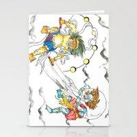 Fujin Raijin Stationery Cards