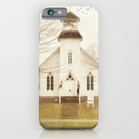 iPhone & iPod Case featuring Country Church by Curt Saunier