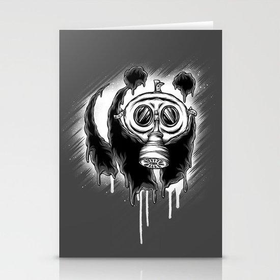 Choked Panda Stationery Card