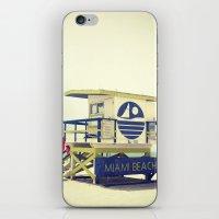 Miami Beach iPhone & iPod Skin