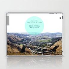 Dear Past, Dear Future Laptop & iPad Skin