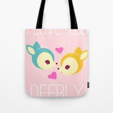 Deerly Tote Bag