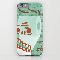 iPhone & iPod Case featuring Toilet Paper by YONIL