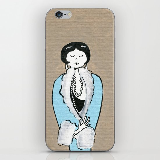 Ramona is ready for a night on the town iPhone & iPod Skin