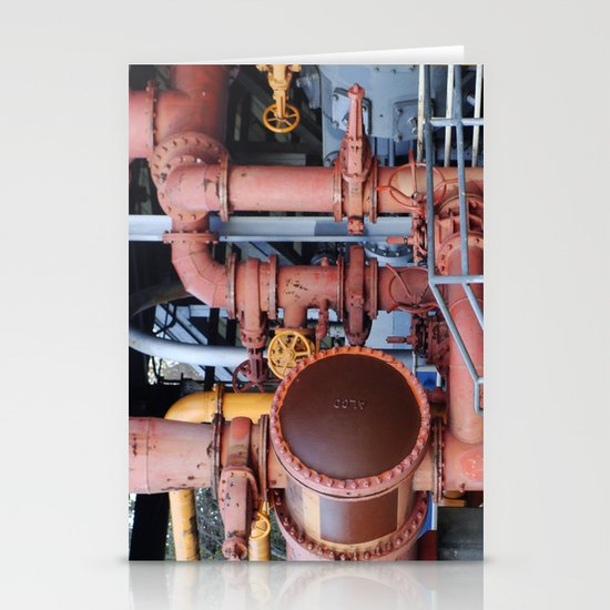 Pipes Stationery Card