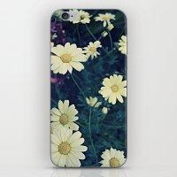 Flowers Polaroid iPhone & iPod Skin
