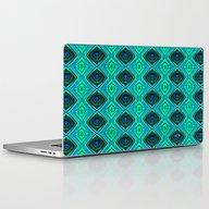 Aqua Laptop & iPad Skin