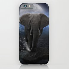 Power Is No Blessing In Itself  (Protect the Elephants)  Slim Case iPhone 6s