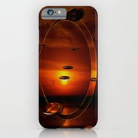 iPhone & iPod Case featuring Exploding Sunset by Laura Santeler