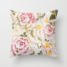 Tiling with pattern 7 Throw Pillow
